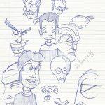 dibujo 5 seleccion 2012 carlos jv